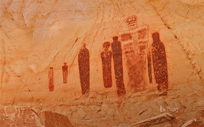 Utah Horseshoe Canyon Gallery Rock Art 2018 Bing Views:1758 Date:7/11/2018 7:47:51 AM