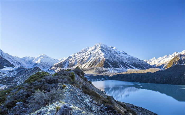 New Zealand Mount Cook Geological Park Glacier Views:4564 Date:8/3/2018 12:43:05 AM