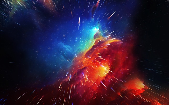 Blue red nebula cosmic explosion design Views:5298 Date:9/12/2018 6:59:47 AM