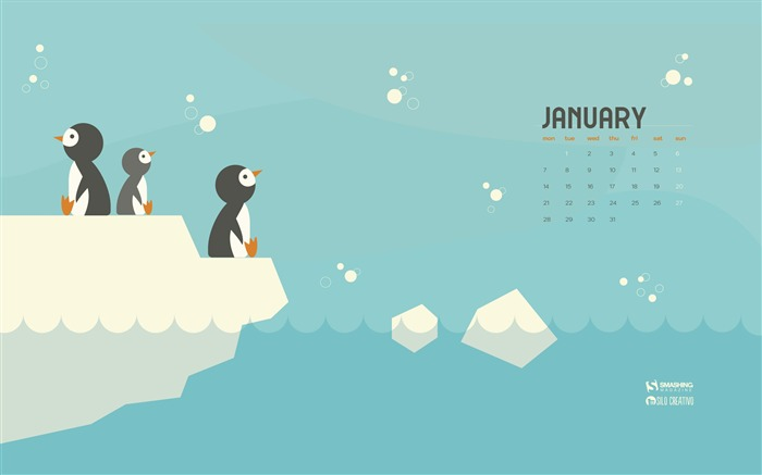 Cold Penguins January 2019 Calendars Views:2223 Date:12/31/2018 8:48:42 AM