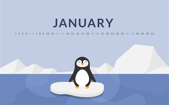 New Year New Chances January 2019 Calendars Views:1333 Date:12/31/2018 8:51:53 AM