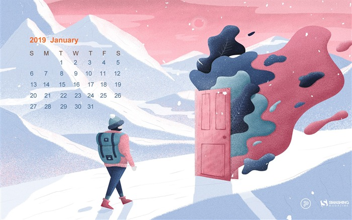 Open the Doors of Year 2019 January 2019 Calendars Views:1594 Date:12/31/2018 8:39:08 AM