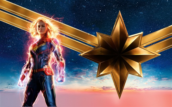 2019 Captain Marvel Movie HD Poster Views:4572 Date:2/3/2019 7:20:05 AM