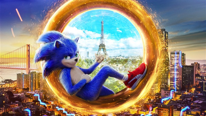 Sonic The Hedgehog 2019 Movie HD Poster Views:4071 Date:10/3/2019 5:33:21 AM
