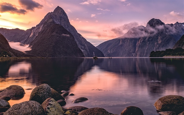Milford Sound New Zealand 2020 Scenery HD Photography Views:2200 Date:5/7/2020 6:42:39 AM