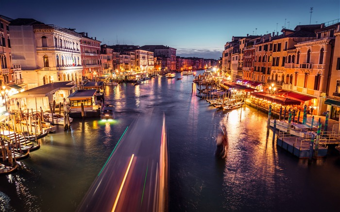 Venice Grand Canal Night 2020 Scenery HD Photography Views:2661 Date:5/7/2020 6:29:23 AM