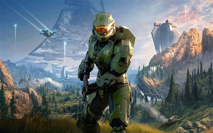 Halo Infinite 2020 Video Game 4K HD Poster Views:1426 Date:8/8/2020 12:40:21 AM