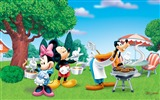 Title:Disney cartoon - Mickey - Mickey Mouse wallpaper second series Views:19012