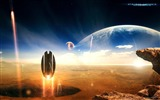 Title:Sci-Fi Space Art-Masterpieces Sci-Fi Digital Artworks Views:11478