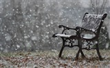 Title:snowy bench-Winter snow scenes wallpaper Views:23170