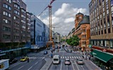 Title:City streets-Stockholm Sweden landscape photography HD wallpaper Views:10250