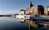 Title:Classical architecture-Stockholm Sweden landscape photography HD wallpaper Views:6274