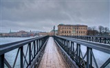 Title:Urban Bridges-Stockholm Sweden landscape photography HD wallpaper Views:6357