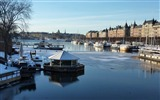 Title:Winter landscape-Stockholm Sweden landscape photography HD wallpaper Views:10419