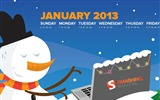 Title:January 2013 calendar desktop themes wallpaper Views:9018