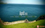 Title:April 2013 calendar desktop themes wallpaper Views:8246