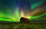 Title:Amazing colorful fantasy landscape Aurora HD Wallpaper Views:3044