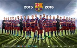 Title:2015-2016 FC Barcelona Football Club HD Wallpaper Views:10906